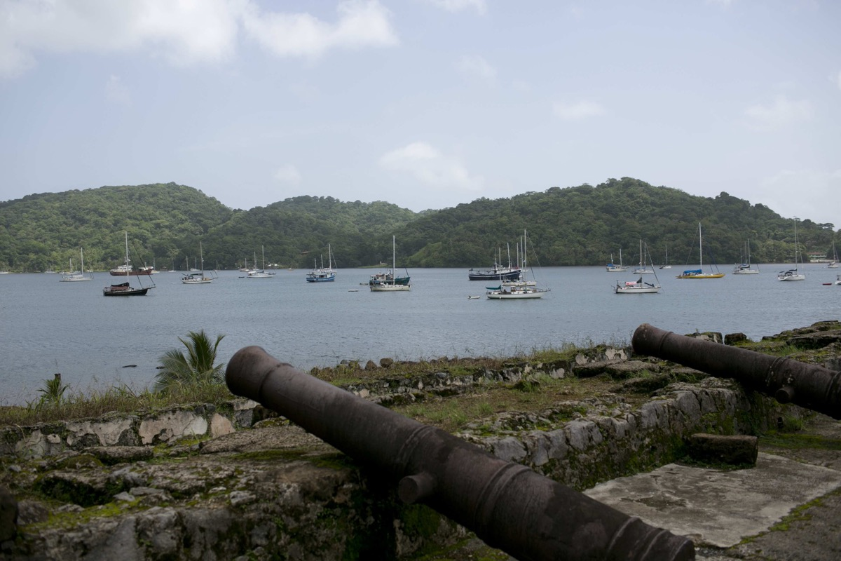 View of Portobelo Bay from local Fort (Photo by Andrew Synowiez)